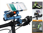 Cycling Bike MTB Bicycle flashlight Bracket Clamp Phone Handlebar Mount Holder