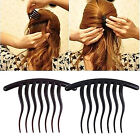 Hair Accessories Inserted Comb Tools Tooth Wave Resin Hair Braider Comb