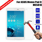 9H Tempered Glass Screen Protector Film Guard Cover for ASUS Memo Pad 8 ME581C