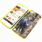 For Apple iPod Touch 5th Gen Hybrid 2-in-1 Cover Case Wild Autumn Deer