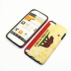 For Apple iPod Touch 5th Gen Hybrid 2-in-1 Cover Case California State Flag