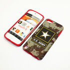 For Apple iPod Touch 5th Gen Hybrid 2-in-1 Case United States Army Camouflage
