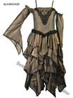 Gothic Victorian Steampunk Long Wedding Dress