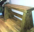 Chunky Rustic Bench , Kitchen/dining room, Traditional seating.-Style number 3-