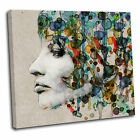Abstract Woman Face Canvas Wall Art Print Picture 24