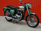 BSA A7 SHOOTING STAR 500CC TWO TONE GREEN 1958 - PLEASE WATCH THE VIDEO