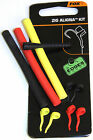 FOX ZIG ALIGNA KIT,SLEEVES,FOAM,RED,YELLOW,BLACK,BROWN,PINK,WHITE-LOADING TOOLS