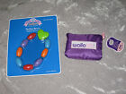 Travel Baby Bib Rattle Teether Keys Beads Toys Purple Rabbit Play Feed NEW!