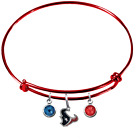 Houston Texans NFL Football Wire Bangle Charm Bracelet Crystal PICK YOUR COLOR on eBay