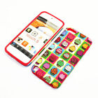For Apple iPod Touch 5th Gen Hybrid 2-in-1 Cover Case Mini Cupcakes