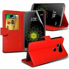 PU Leather Book Wallet Case Cover for LG K4