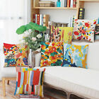 Art abstract painting linen Cushion Cover bed car Throw Pillow Case Home Decor