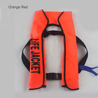 Adult Inflatable Universal Life Jacket Sailing Boating Security Swimming Vest