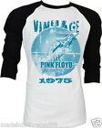 Pink Floyd The Tea Set wish you were here Music Band Tee 2 Tones Raglan S M L