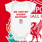 Liverpool Dad Daddy Custom Football Bodysuit Baby Vest Gift Funny #22