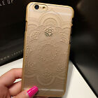 Sexy Lace Hallow out Datura Protector Hard TPU Case Cover For iPhone 6 6s Plus