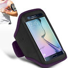Samsung Galaxy S7 Edge - Sports Running Jogging Gym Armband Case Cover Holder