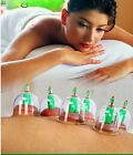 Effective 6 Or 12 Cups Medical Chinese Vacuum Cupping Suction Therapy Device Set