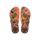 Original Havaianas Flip Flops Slim Tropical New Beach Sandals Women All Sizes