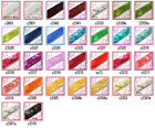 "30 colours -1.5"" (40mm) wide Shiny Flat Square Sequin Trim Ribbon Sell Meter(s)"