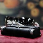 NEW MENS RIMLESS SUNGLASSES CELEBRITY STYLE DESIGN ROCK