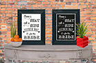 Choose a way not a side Either way Bride Chalk Board print Style Vintage aa142