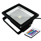 Outdoor Garden Multi Colour Changing IR/RF Remote Control RGB LED Flood Light