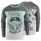 American Fighter Elmhurst Long Sleeve Shirt(White/Heather Gray)