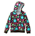 Jumping Beans Size 4 Floral Hoodie Girl Sweater Clothes