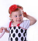 Hairband Baby Glitter Ruffle Small Headband Girls Rhinestones Hair Accessory