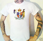 NEW ZEALAND Coat Of Arms T-Shirt. Kiwi NZ