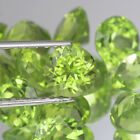 6MM. Lot 1,3,6,10 pcs Calibrated Round Cut Natural Gemstone Green PERIDOT