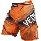 Venum Galactic Fight Shorts (Neo Orange) - bjj mma ufc