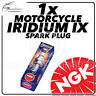 1x NGK Upgrade Iridium IX Spark Plug for HONDA 125cc XR125L 03-> #2202