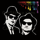 """1 of 5"""" Blues Brothers /A car truck window bumper stickers decals die cut"""