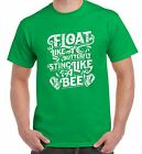 Float Like A Butterfly Sting Like A Bee Boxing Men's T-Shirt - Muhammad Ali