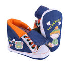 Trainers Boys Denim Guess Hi Top Orange Shoes Elastic Laces Foresters Boots