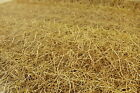 Straw Hay PVC Easy Wipe Clean Tablecloth 140cm Wide