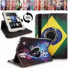 For Amazon Kindle Fire HD 7 Inch 2012 PU Leather 360 Rotating Stand Case Cover