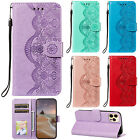 Fashion Flip Pattern Hybrid Stand PU Leather Cover TPU Case Wallet For Phone HD