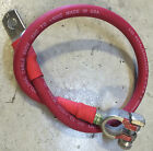 2 Gauge AWG RED Custom Built Copper Battery Cables- Marin...