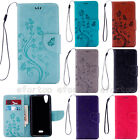 Fashion Patterned Book Style Flip Magnetic Stand Wallet PU Leather Cover Case MT