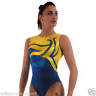 "Milano Pro Sport Gymnastic leotard 'Viennese Bodice 160801' - Sizes 26""-36""- NEW"
