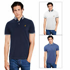 Brave Soul Glover Mens Polo T Shirt Casual Short Sleeved Contrast Collared Top
