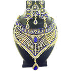 Indian Jewelry Ethnic Necklace Bollywood Bridal Traditional New Gold Fashion Set