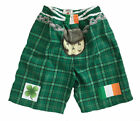 Irish/Ireland/Novelty/Kilt/Tartan/Shorts/New