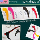 Eyeglass Ear Hook  Soft Silicone Temple Tips Holder High Quality US SELLER image