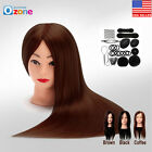 "24""  New Hair Training Practice Head Mannequin Hairdressing or Braid Tool Set A+"