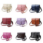 Fashion Women Shoulder Bag PU Leather Handbag Tote Purse Messenger Crossbody Bag