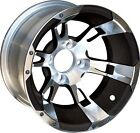 BUY THE COMBO AND SAVE!  Golf Cart Wheels,  AT Tires & Lift Kit - 40970 40270